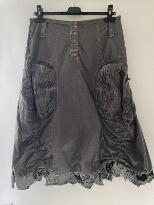 Lila collection Crash Skirt grey-dark grey