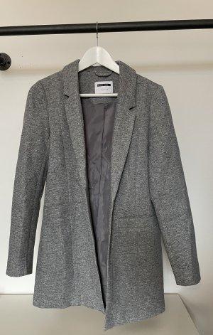 Noisy May Lange blazer grijs