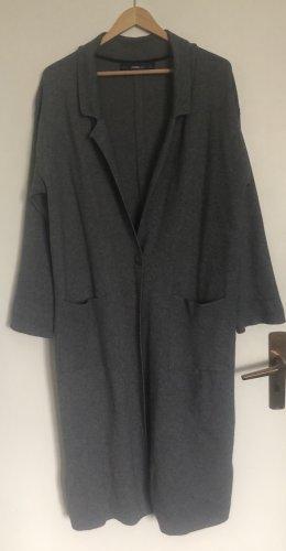 Grauer  Long Blazer von ZARA in Größe L