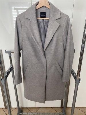 New Look Cappotto in lana grigio