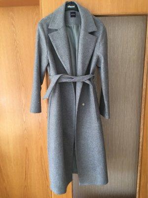 Promod Manteau long gris-gris clair