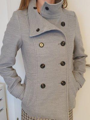 H&M Abrigo ancho gris
