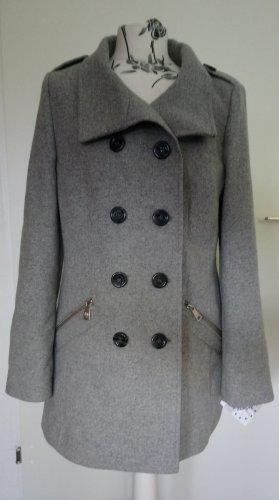 Fuchs Schmitt Heavy Pea Coat black-grey