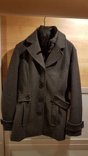 Street One Veste d'hiver noir-gris foncé