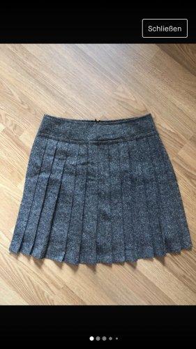 Max & Co. Plaid Skirt grey