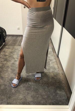 H&M Jupe longue gris clair