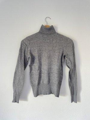 C&A Sweter z golfem jasnoszary-szary