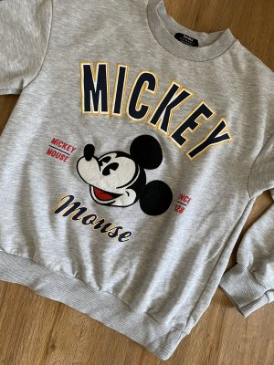 grauer Mickey Mouse Sweater