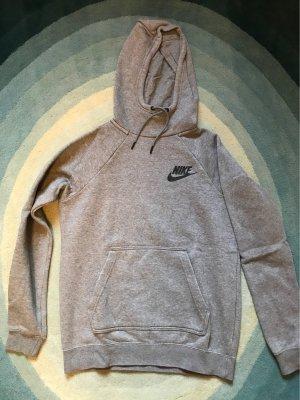 Nike Pull à capuche gris clair-gris