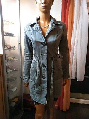 Grauer ONLY Mantel Größe S