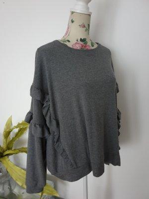 Mango Oversized Sweater grey-dark grey
