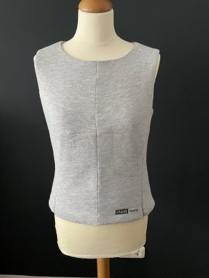 Cheer Cardigan long gris clair-gris