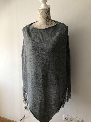 Anna Field Poncho en tricot gris-gris clair