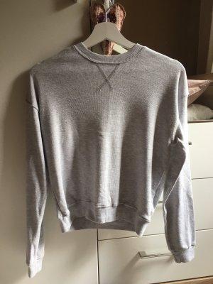 Brandy & Melville Crewneck Sweater light grey