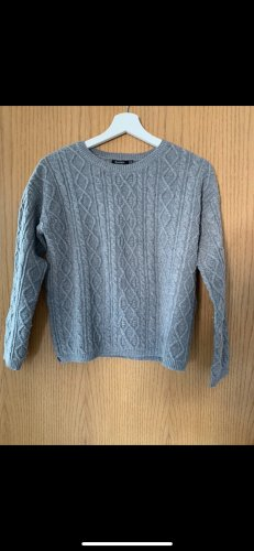 Bershka Norwegian Sweater grey