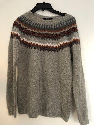 Halluber Norwegian Sweater multicolored