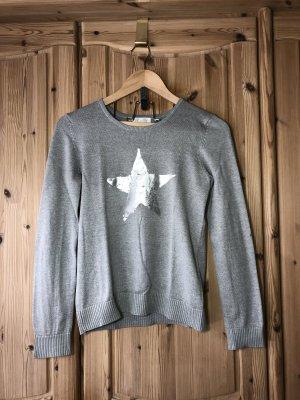 Alive Jersey largo color plata-gris