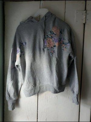 H&M Felpa kimono grigio chiaro