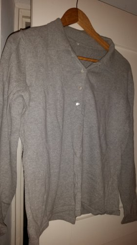 Norwegian Sweater light grey-silver-colored mixture fibre