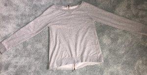 40Weft Pull tricoté gris clair