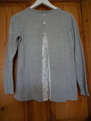 Grauer Pullover mit Rückendetail Asos 34/XS