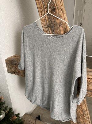 Repeat Maglione lungo grigio chiaro-grigio