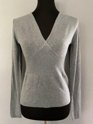 Grauer Pullover von Comma, Gr. 38
