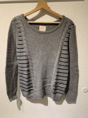 Grauer Pullover von Quiksilver | Größe S