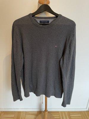 Grauer Pullover von Tommy Hilfiger, Gr. M