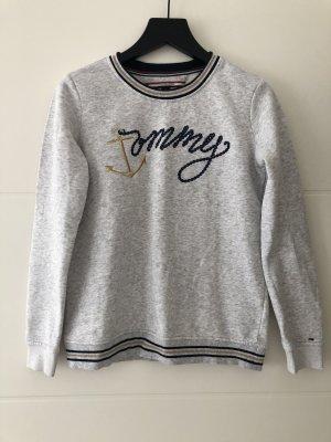 Grauer Pullover von Tommy Hilfiger Gr. XXS