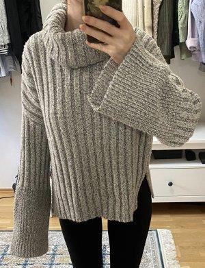 Grauer Pullover von Topshop