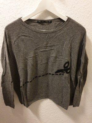 grauer Pullover von ZARA Knit