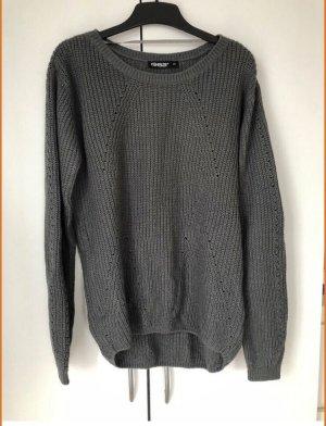 1982 Pull en laine gris