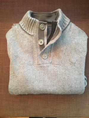 Puma Pull tricoté gris