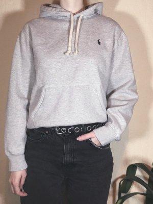 Polo Ralph Lauren Jersey con capucha gris claro