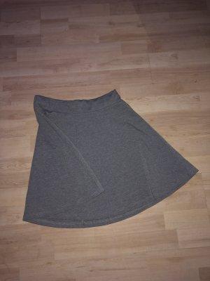 Zara Asymetryczna spódniczka szary