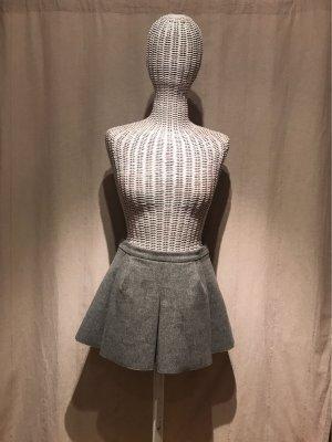 Zara Woman Gonna a pieghe grigio chiaro-grigio