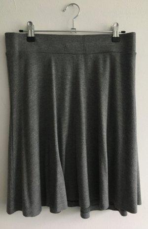 Esprit Circle Skirt grey viscose