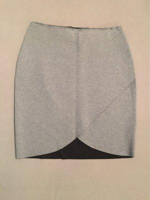 Esprit High Waist Skirt grey