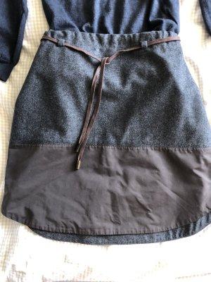 Brunello Cucinelli Balloon Skirt grey-dark brown