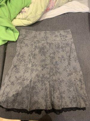 Orsay Jupe à plis multicolore