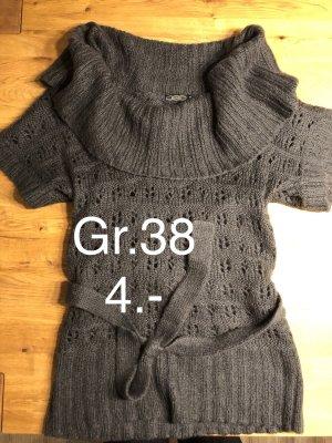 Grauer Rollkragen Pullover Gr.38 nur 4.-