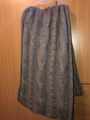 / Écharpe ronde argenté-gris