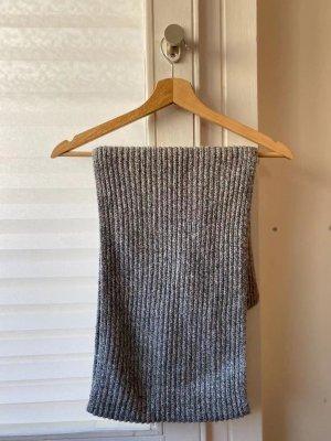 H&M Sciarpa lavorata a maglia argento