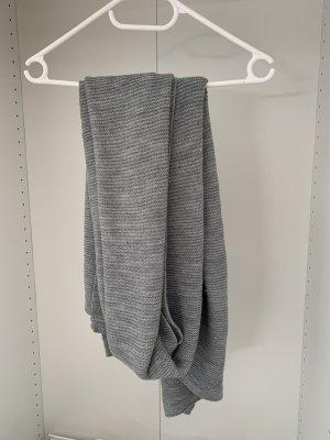 H&M Gebreide sjaal grijs