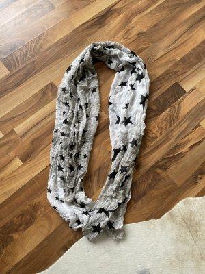 Grauer Schal mit Sternen von Passigatti