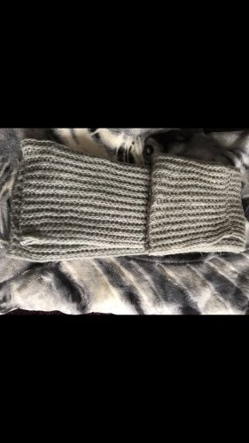 Pieces Tube Scarf grey-dark grey