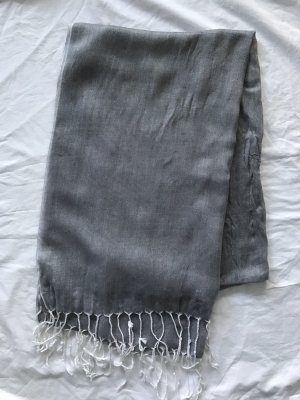 Summer Scarf silver-colored-white