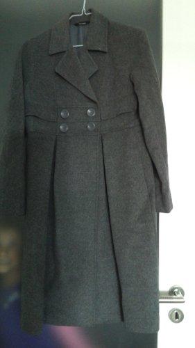 Stefanel Cappotto in lana grigio chiaro Lana
