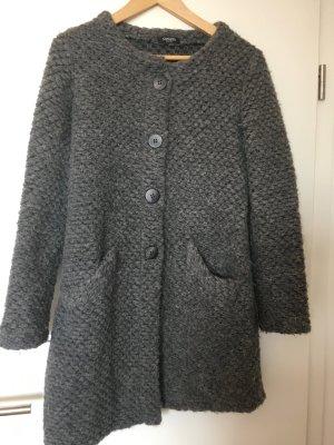 Conleys Manteau en tricot gris anthracite